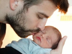 Shakira-baby-photo-Gerard-Pique