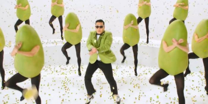 gangnam style peanutes