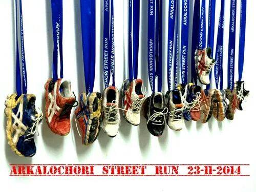 Arkalochori street run 2