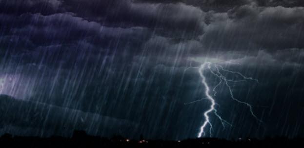 Έρχονται καταιγίδες και χαλάζι στην Κρήτη