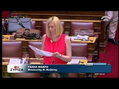 Άρχισαν τα όργανα: Η Ραχήλ Μακρή είπε ΟΧΙ στην πρόταση της κυβέρνησης! (VIDEO)