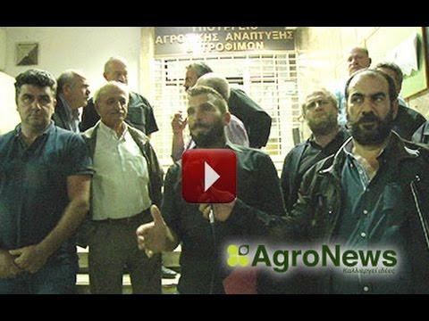 Γυαλιά καρφιά τα έκαναν οι Κρητικοί στη συνάντηση με τον υπουργό Αγροτικής Ανάπτυξης Αποστόλου