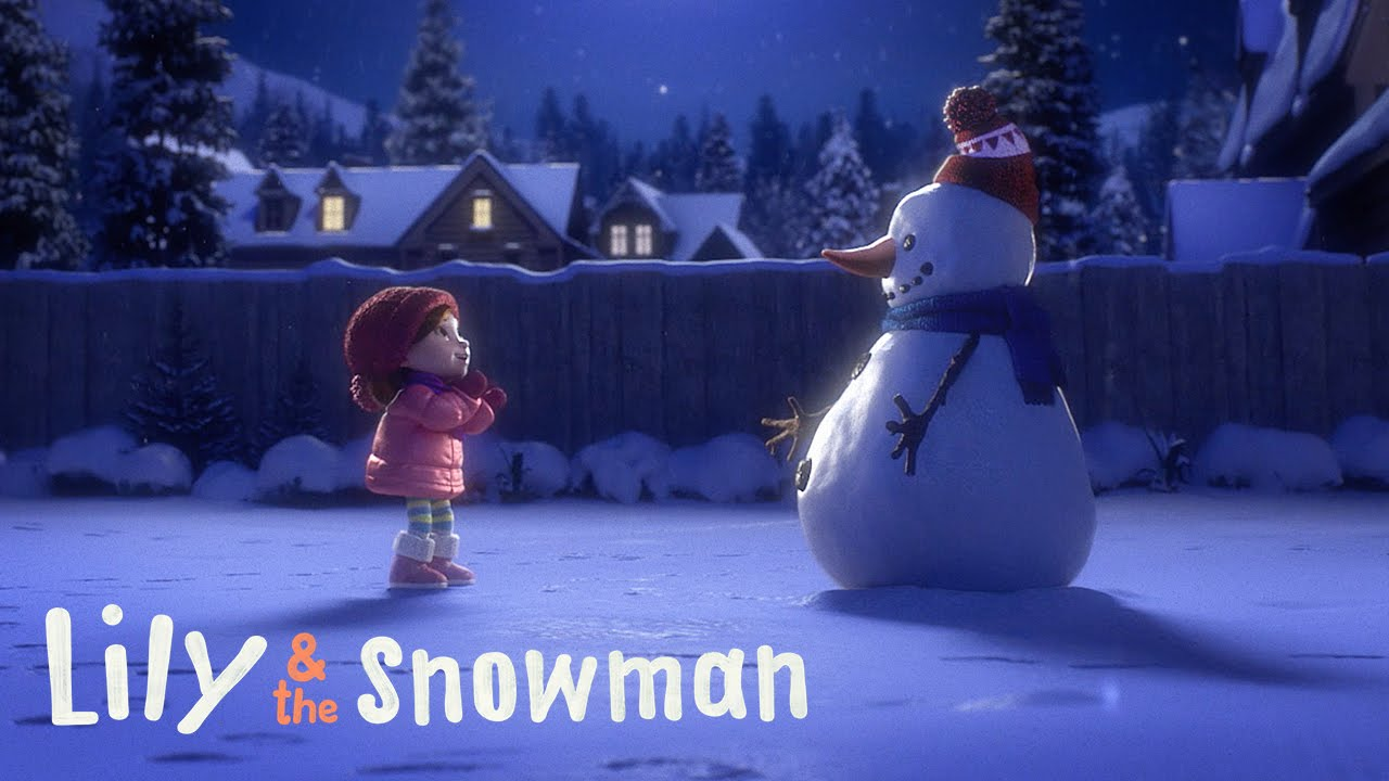 Το κορίτσι και ο χιονάνθρωπος (Βίντεο)