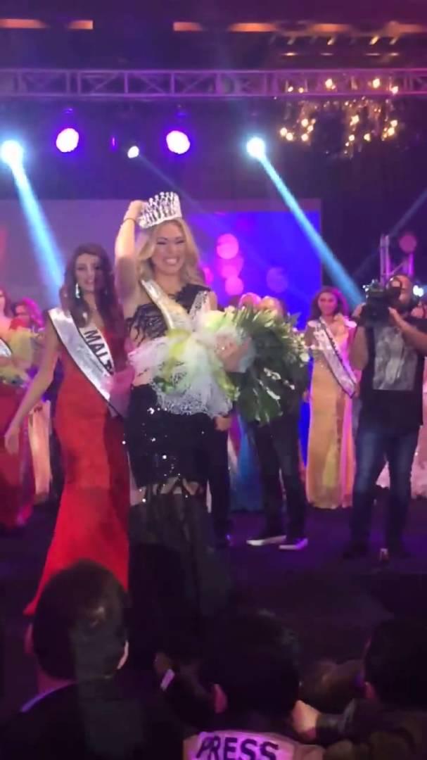 Η Κρητικιά Μικαέλα Φωτιάδη η πιο όμορφη στην Ευρώπη (Video)
