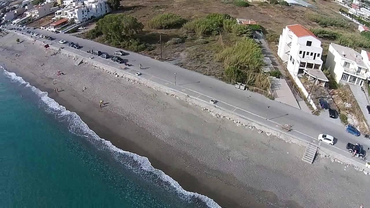 Η Παραλία Κόκκινος Πύργος Νότια Κρήτη (Video)
