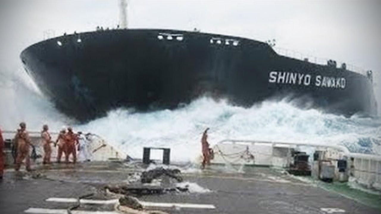 Επικές συντριβές πλοίων που ΔΕΝ βλέπεις κάθε μέρα (video)