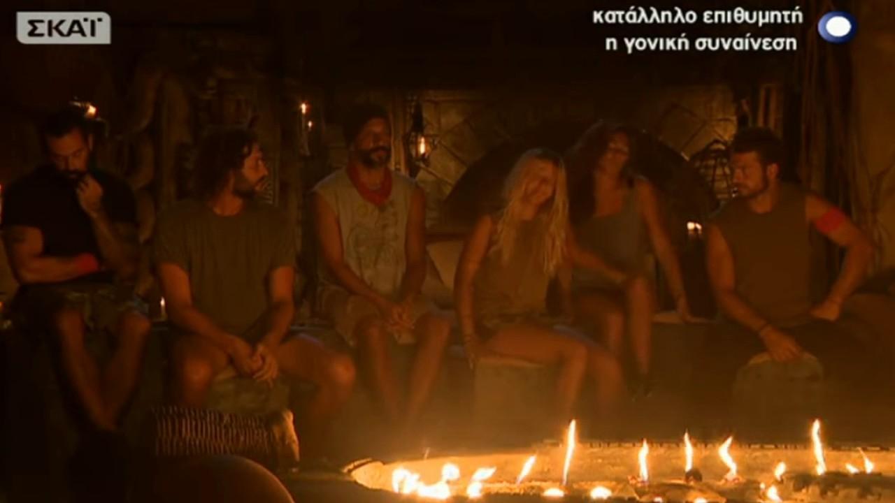 Survivor: Αποχώρησε η Λάουρα…. Κατέρρευσε η Ευρυδίκη (Video)