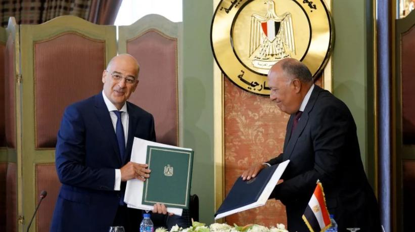 Αναρτήθηκε η συμφωνία Ελλάδας-Αιγύπτου στον ΟΗΕ