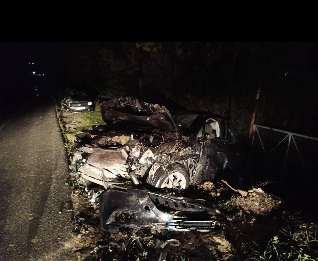 Εικόνες που σοκάρουν από το σοβαρό τροχαίο στο δρόμο Ηράκλειο Μεσαρά – Στο νοσοκομείο οι δύο οδηγοί
