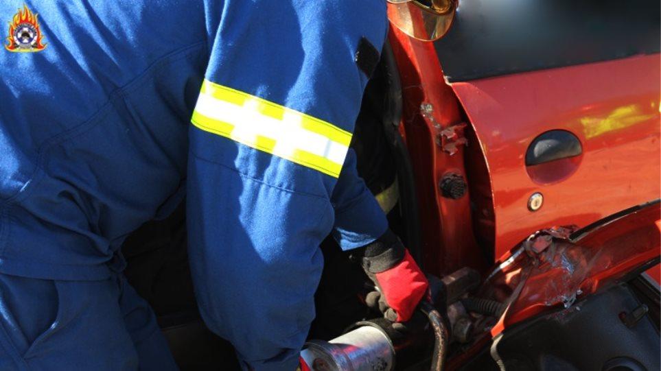 Αυτοκίνητο «Τούμπαρε» στην Κρήτη η οδηγός, μεταφέρθηκε στο νοσοκομείο